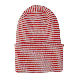 Newborn Baby Infant Soft Striped Knitted Cap Outdoor Casual Beanie Hospital Hat