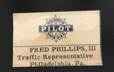 Pilot Freight Carrier Winston Salem NC traffic Rep badge Philadelphia PA