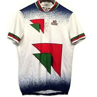 Team Ultima 4 Chrome Tapes Vintage Team Cycling Jersey Made in Italy Size 6 / L