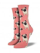 Socksmith Women's Pug Casual Sock (6-10) Peach