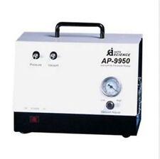 Handheld lab Oil Free Diaphragm Vacuum Pump AP-9950 50L/m Pressure adjust 220V b