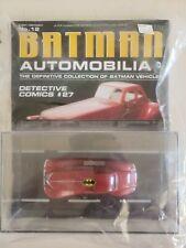 Batman Automobilia DC Comics Eaglemoss Batman Vehicle Detective Comics #27