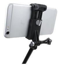 51-84mm Mobile Phones Cell Phone Mount Selfie Adapter Holder For GoPro Mounts