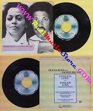 LP 45 7'' DIANA ROSS & LIONEL RICHIE Endless love 1981 italy MOTOWN no cd mc*dvd