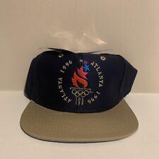 VTG Atlanta Summer Olympics 1996 Snapback Hat Deadstock USA NWT New One Size