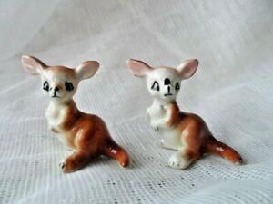 Vintage Miniature Kangaroo Figurines