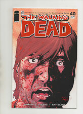 Walking Dead #40 - Awesome Rick Cover! Robert Kirkman - (Grade 9.2) 2007