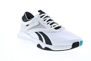 Reebok Hiit TR EF7484 Mens White Canvas Athletic Cross Training Shoes