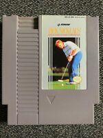 JACK NICKLAUS GOLF - NINTENDO NES - GAME ONLY - FREE S/H - (N1)
