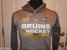 New Patrice Bergeron #37 2016 NHL Winter Classic Boston Bruins Hooded Sweatshirt