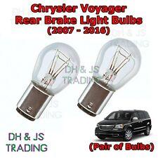 FITS CHRYSLER VOYAGER 2004-2006  501  XENON  LIGHT  BULBS