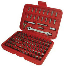 """Astro 7110 100 pc Bit and Adapter Set, Flexible Double Sided 1/4"""" Socket Wrench"""