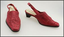 BOSTON BELLE WOMEN'S RED MEDIUM HEEL SHOES SIZE 6 AUST 37 EUR