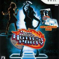 Nintendo Wii Game DANCE DANCE REVOLUTION HOTTEST PARTY - Dance Mat Included