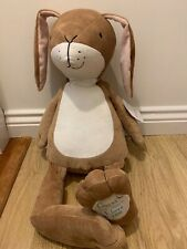 Guess How Much I Love You Giant Nutbrown Hare Baby toy birth NEW