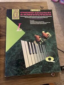 The Real Chord Changes & Substitutions By Champ Champagne L THRU Q