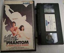 VHS - WHITE PHANTOM - IL NEMICO DELLE TENEBRE di Dusty Nelson [IMAGE VIDEO]