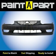 2001 2002Toyota Corolla Front Bumper Cover (TO1000217) Painted