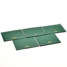 Auth ROLEX Card holder 5 pieces around 2010s Green Used ip036