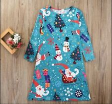 Santa Claus Spring Party Dresses (2-16 Years) for Girls