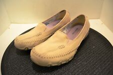 """Skechers"" memory foam tan canves shoes sz. 8"