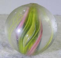 #11283m Bigger .92 Inches German Handmade Divided Ribbon Swirl Shooter Marble
