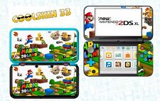 SKIN DECAL STICKER - NINTENDO NEW 2DS XL - REF 176 SUPER MARIO LAND 3D