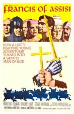 "35mm Feature Film Preview ""FRANCIS OF ASSISSI""  1961"