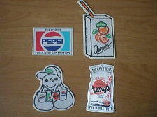 Silk Britvic promotion cards 90x45mm(largest) collected Manchester 1991
