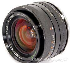 Tamron 1:2 .5 F = 24 mm BBAR Multi C. Ultra Gran Angular Lente Pentax-K Film & Digital