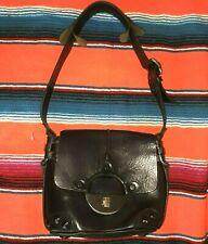DIESEL Tote Shoulder Bag  Black Gold! Super Rare Find!!