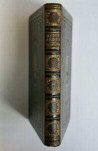 Tennyson: Enoch Arden Etc., Moxon 1864, Fine Gilt Tooled Leather Binding