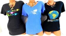 U* 3Lot color me rad black/gildan black/columbia blue plus short sleeve top XL