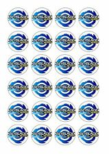 24 Beyblade Wafer Rice Paper Cupcake Toppers Edible Cake Decorations Bey Blade