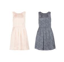 Montego Etuikleid Kleid Dress Tupfen Punkte Muster Sommer Cocktail Party Damen