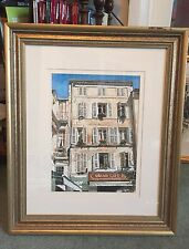 "NUOVO Originale Fraser KING ""Grand cafe francese Provence caffetteria Francia La pittura"