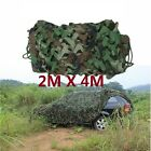 13x6.5FT Woodland Camouflage Netting Military Camo Hunting Cover String Backing