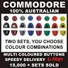 COLOURED HOLDEN COMMODORE KEY BUTTONS VS VT VX VY VZ WH WK WL (part # KB050)