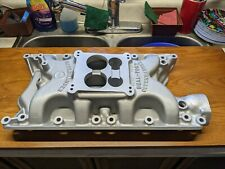 Rare Dual Port Spread Bore Offenhauser Offy Intake Ford 351w Mustang Cougar F350