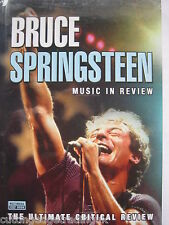 Bruce Springsteen: Music in Review Includes DVD & Book, 2001) NEW SEALED PAL