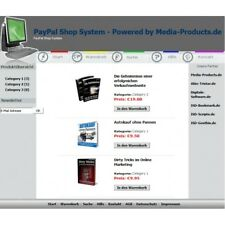 Shop System (Basic) inkl. PayPal Anbindung