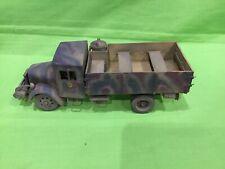 Tamiya? 1/35 Segunda Guerra Mundial alemán tropa Camión, África precioso artículo. Pintado y construido.