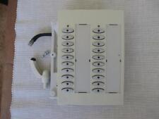ELMEG Funkwerk T400 Tastenerweiterung zweireihig weiß Tastenfelderweiterung
