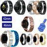 Stainless Steel Band Metal Strap For Samsung Galaxy Watch 42m 46mm / Active US