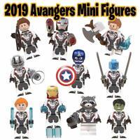 10 Pcs Marvel Super Heroes Minifigures Endgame Quantum suit Hero Mini Figures