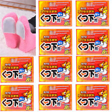 20x Foot Warmer Lasting Sticker Heat Adhesive Patches Keep Feet Warm Paste Pads