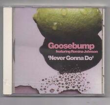 Goosebump Featuring Romina Johnson Never Gonna Do 2001 Remixes Radikal Records