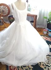 NEW ♡ #6 WEDDING GOWN DRESS ♡ BEAUTIFUL ♡ LAYERS AND LAYERS OF TULLE ♡ SIZE 16