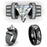 Punk Hip-Hop Women Man Gothic Rings Jewelry Couple Rings Zelda Legend Ring-Gift/