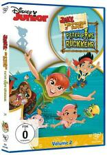 Disney Junior: Jake und die Nimmerland Piraten Vol. 2: Peter Pans Rückkehr NEU!!